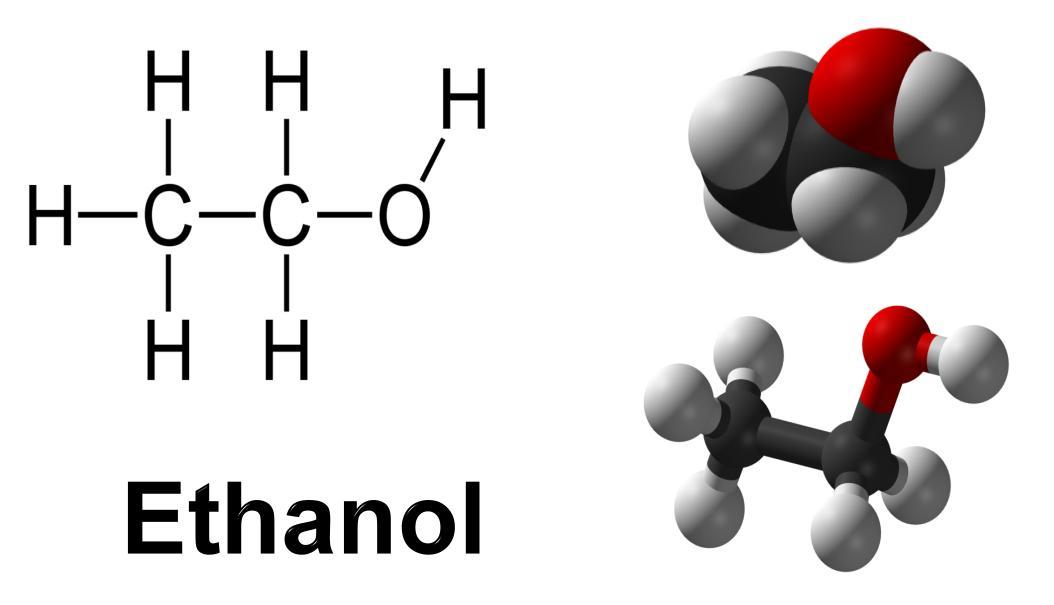 Chemical Formula For Ethanol [1] ethanol full structural